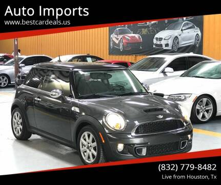 2012 MINI Cooper Hardtop for sale at Auto Imports in Houston TX