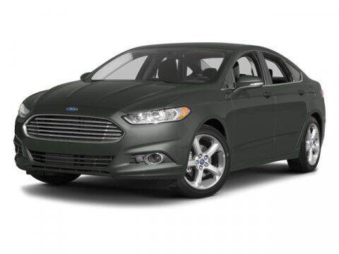 2013 Ford Fusion for sale at SCOTT EVANS CHRYSLER DODGE in Carrollton GA