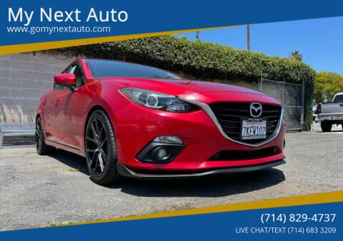 2015 Mazda MAZDA3 for sale at My Next Auto in Anaheim CA