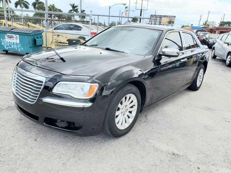 2013 Chrysler 300 for sale at A Group Auto Brokers LLc in Opa-Locka FL