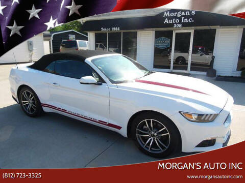 2016 Ford Mustang for sale at Morgan's Auto Inc in Paoli IN