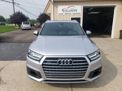 2017 Audi Q7 for sale at Exclusive Automotive in West Chester OH