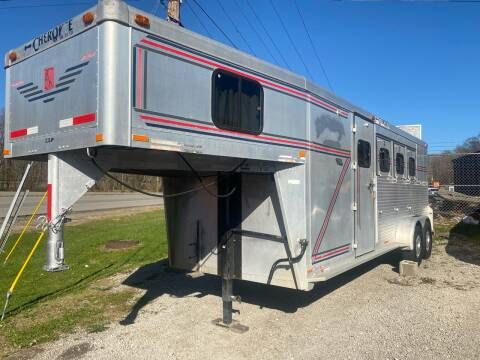 1994 Cherokee horse trailer for sale at WINNERS CIRCLE AUTO EXCHANGE in Ashland KY