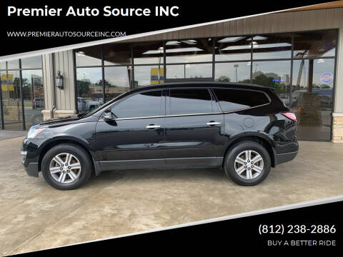 2016 Chevrolet Traverse for sale at Premier Auto Source INC in Terre Haute IN
