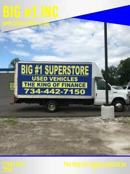 2008 Ford E-Series Chassis for sale at BIG #1 INC in Brownstown MI