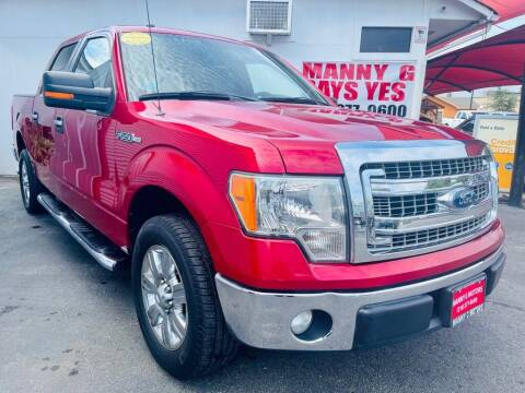 2012 Ford F-150 for sale at Manny G Motors in San Antonio TX