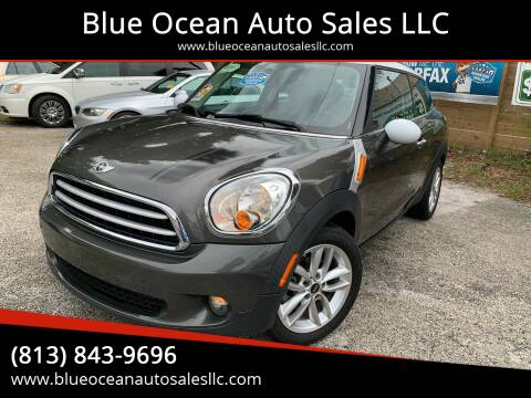 2013 MINI Paceman for sale at Blue Ocean Auto Sales LLC in Tampa FL