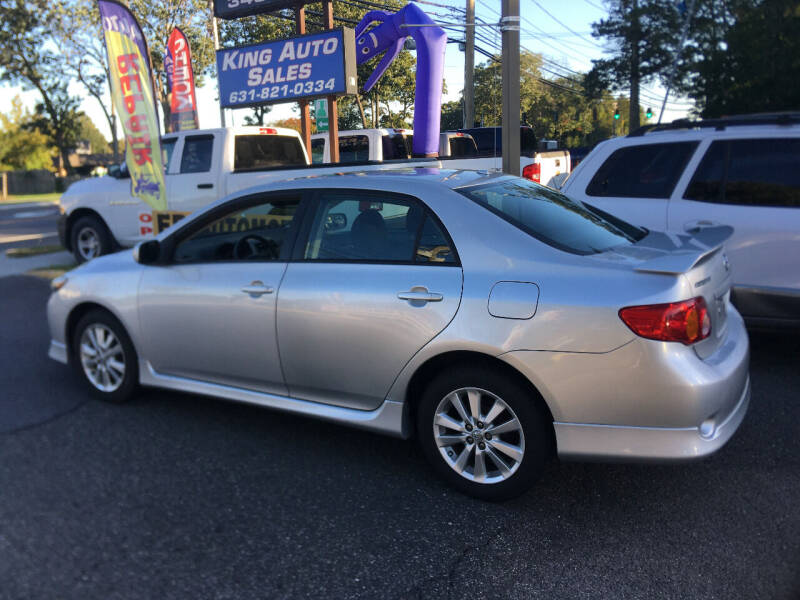 2010 Toyota Corolla for sale at King Auto Sales INC in Medford NY