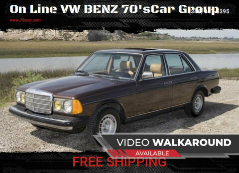 1980 Mercedes-Benz 300-Class for sale at On Line VW BENZ 70'sCar Group in Warehouse CA