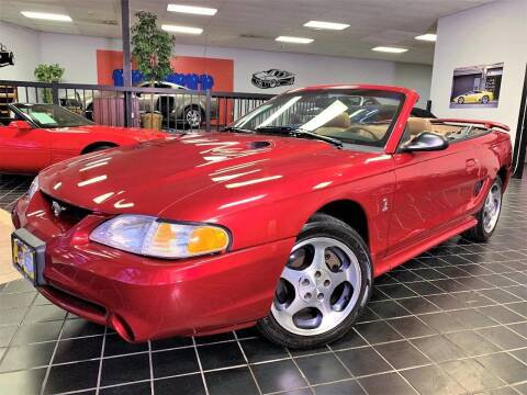 1996 Ford Mustang SVT Cobra for sale at SAINT CHARLES MOTORCARS in Saint Charles IL