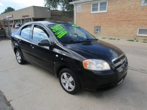 2007 Chevrolet Aveo for sale at RON'S AUTO SALES INC in Cicero IL