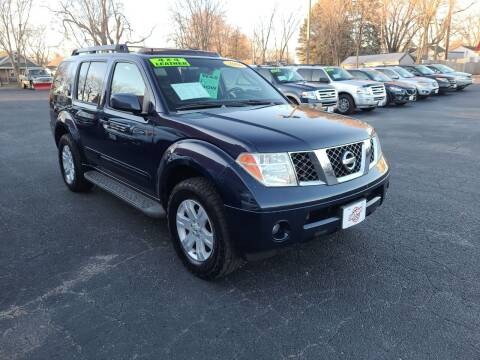 2006 Nissan Pathfinder for sale at Stach Auto in Edgerton WI