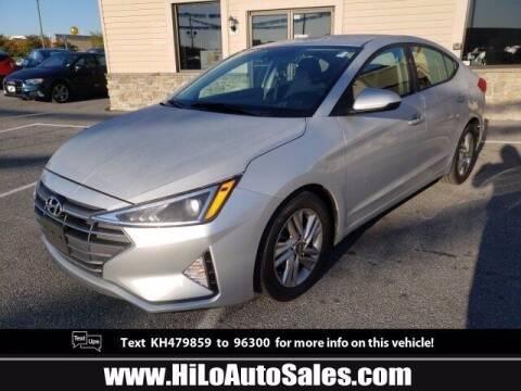 2019 Hyundai Elantra for sale at Hi-Lo Auto Sales in Frederick MD