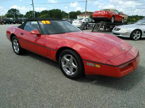 1990 Chevrolet Corvette for sale at Kelly & Kelly Supermarket of Cars in Fayetteville NC