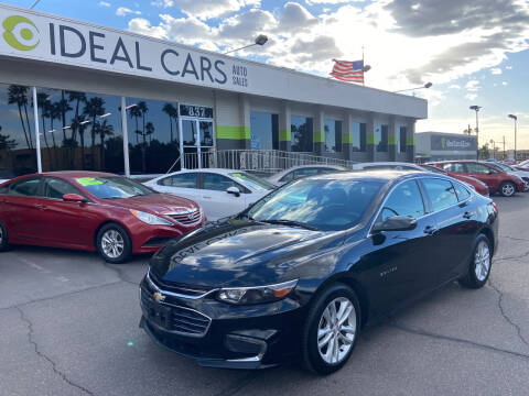 2018 Chevrolet Malibu for sale at Ideal Cars Broadway in Mesa AZ
