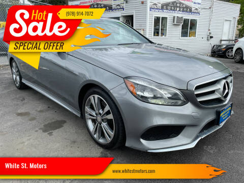 2014 Mercedes-Benz E-Class for sale at White St. Motors in Haverhill MA