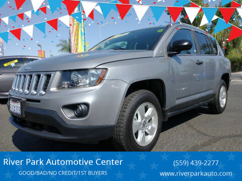 2015 Jeep Compass for sale at River Park Automotive Center in Fresno CA