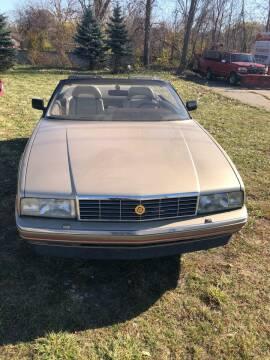 1992 Cadillac Allante for sale at Daniel Auto Sales inc in Clinton Township MI