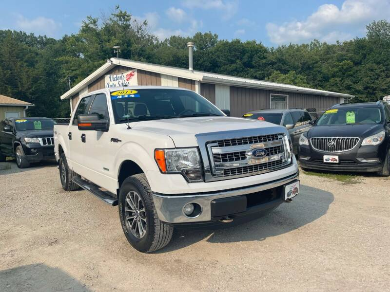 2013 Ford F-150 for sale at Victor's Auto Sales Inc. in Indianola IA
