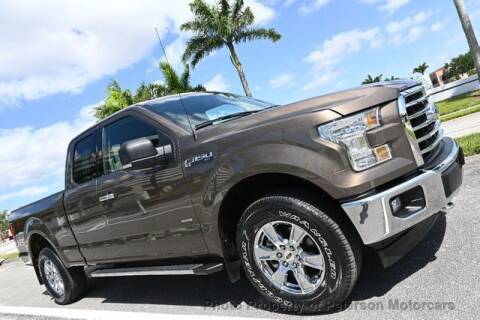 2017 Ford F-150 for sale at MOTORCARS in West Palm Beach FL