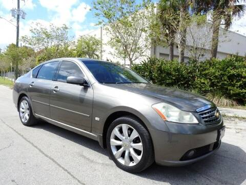 2007 Infiniti M35 for sale at SUPER DEAL MOTORS in Hollywood FL