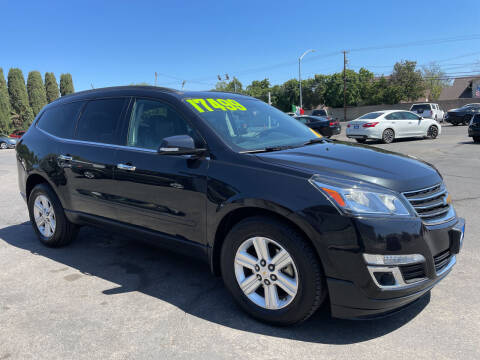 2014 Chevrolet Traverse for sale at Blue Diamond Auto Sales in Ceres CA