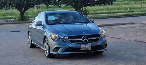 2014 Mercedes-Benz CLA for sale at America's Auto Financial in Houston TX