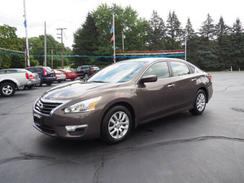 2015 Nissan Altima for sale at Patriot Motors in Cortland OH