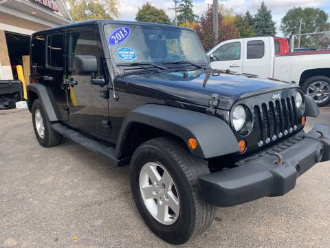 2013 Jeep Wrangler Unlimited for sale at A 1 Motors in Monroe MI