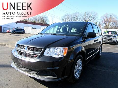 2017 Dodge Grand Caravan for sale at Uneek Auto Group LLC in Burton MI