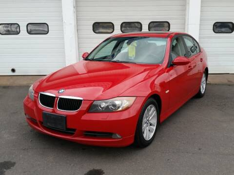 2007 BMW 3 Series for sale at Action Automotive Inc in Berlin CT