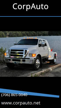 2005 Ford F-650 Super Duty for sale at CorpAuto in Cleveland GA
