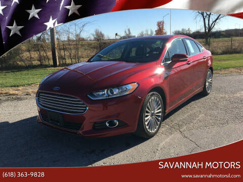 2014 Ford Fusion for sale at Savannah Motors in Cahokia IL