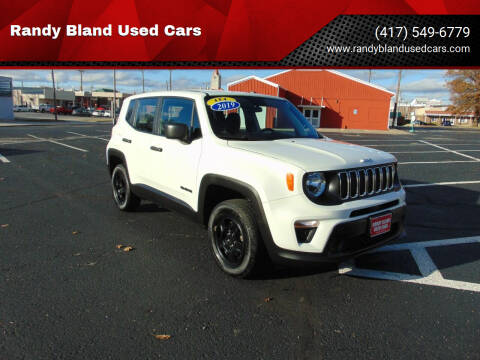2018 Jeep Renegade for sale at Randy Bland Used Cars in Nevada MO