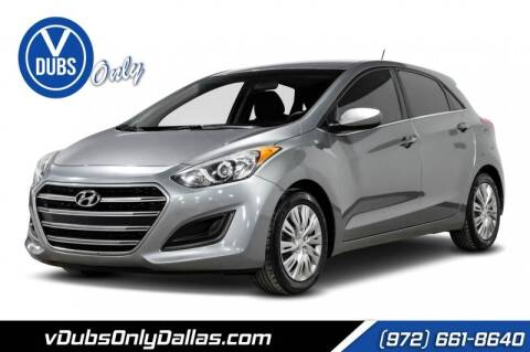 2016 Hyundai Elantra GT for sale at VDUBS ONLY in Dallas TX