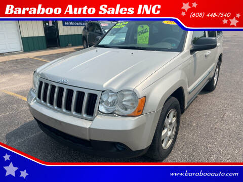2008 Jeep Grand Cherokee for sale at Baraboo Auto Sales INC in Baraboo WI