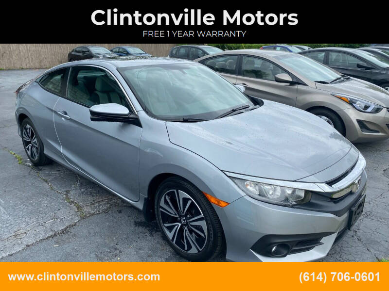 2016 Honda Civic for sale at Clintonville Motors in Columbus OH