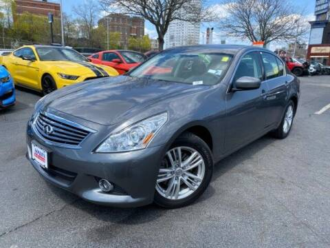 2012 Infiniti G25 Sedan for sale at Sonias Auto Sales in Worcester MA
