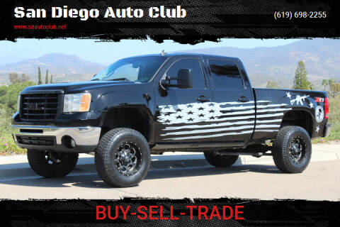 2007 GMC Sierra 2500HD for sale at San Diego Auto Club in Spring Valley CA