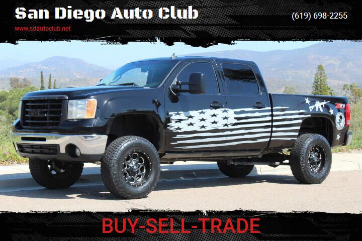 2007 GMC Sierra 2500HD for sale at San Diego Auto Club in Spring Valley CA