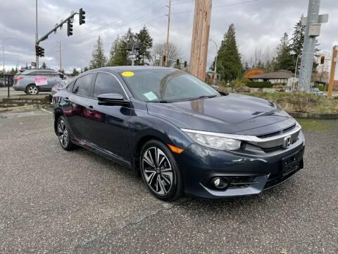 2017 Honda Civic for sale at KARMA AUTO SALES in Federal Way WA