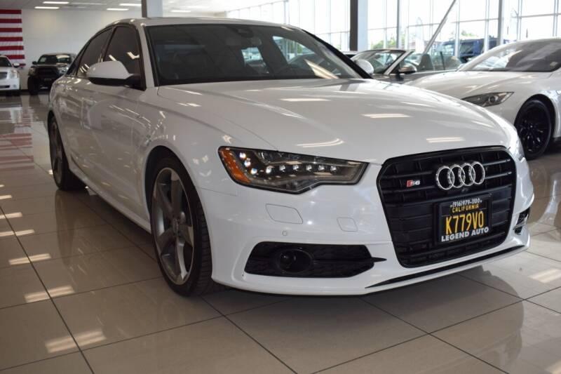 2014 Audi S6 for sale at Legend Auto in Sacramento CA