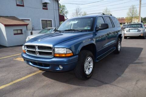 2003 Dodge Durango for sale at L&J AUTO SALES in Birdsboro PA