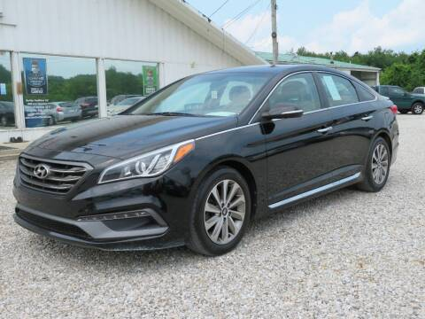 2015 Hyundai Sonata for sale at Low Cost Cars in Circleville OH