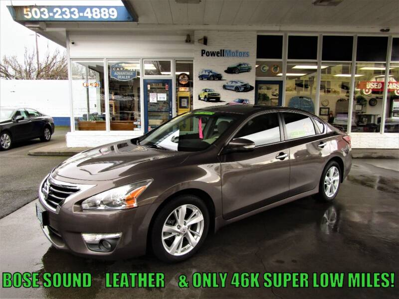 2013 Nissan Altima for sale at Powell Motors Inc in Portland OR