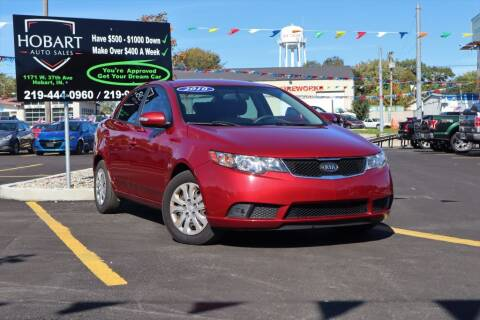 2010 Kia Forte for sale at Hobart Auto Sales in Hobart IN