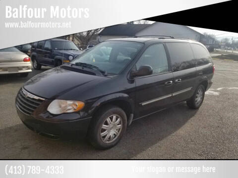 2006 Chrysler Town and Country for sale at Balfour Motors in Agawam MA