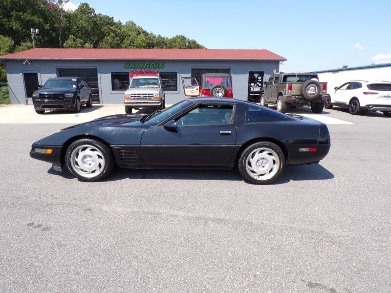 1992 Chevrolet Corvette for sale at Cambria Cars in Mooresville NC