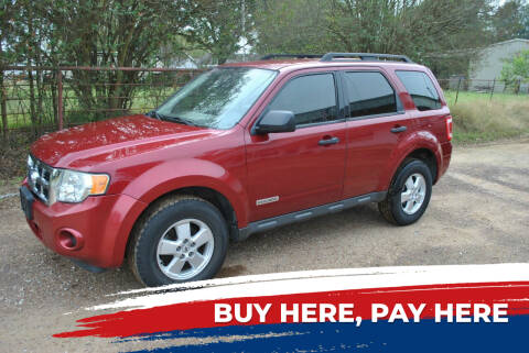 2008 Ford Escape for sale at OWR Auto Sales in Paris TX