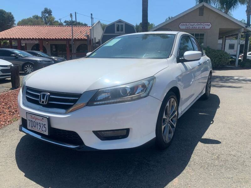 2014 Honda Accord for sale at North Coast Auto Group in Fallbrook CA